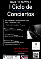 Rota Piano Week: I Ciclo de Conciertos [Gratuito]