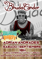 Beach Party con Adrian Andrades